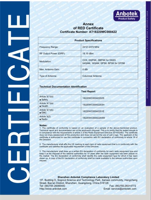 恭喜万博max官网版获得CE证书!(图2)